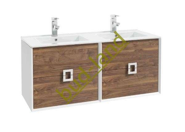 Elita drewniana szafka pod umywalke